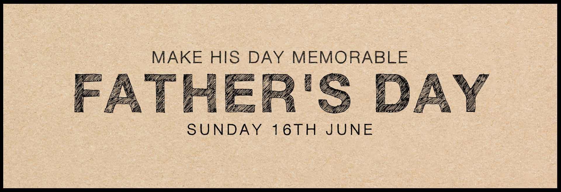 Father's Day at The Carpenter's Arms