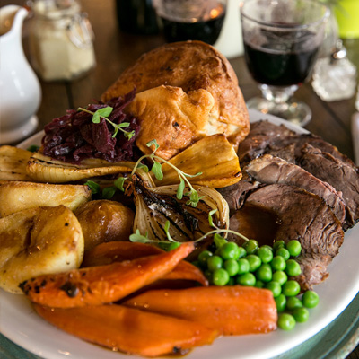 Quality Sunday food at The Carpenter's Arms