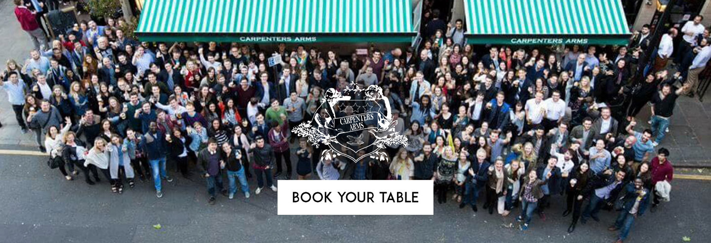Book Your Table The Carpenter's Arms